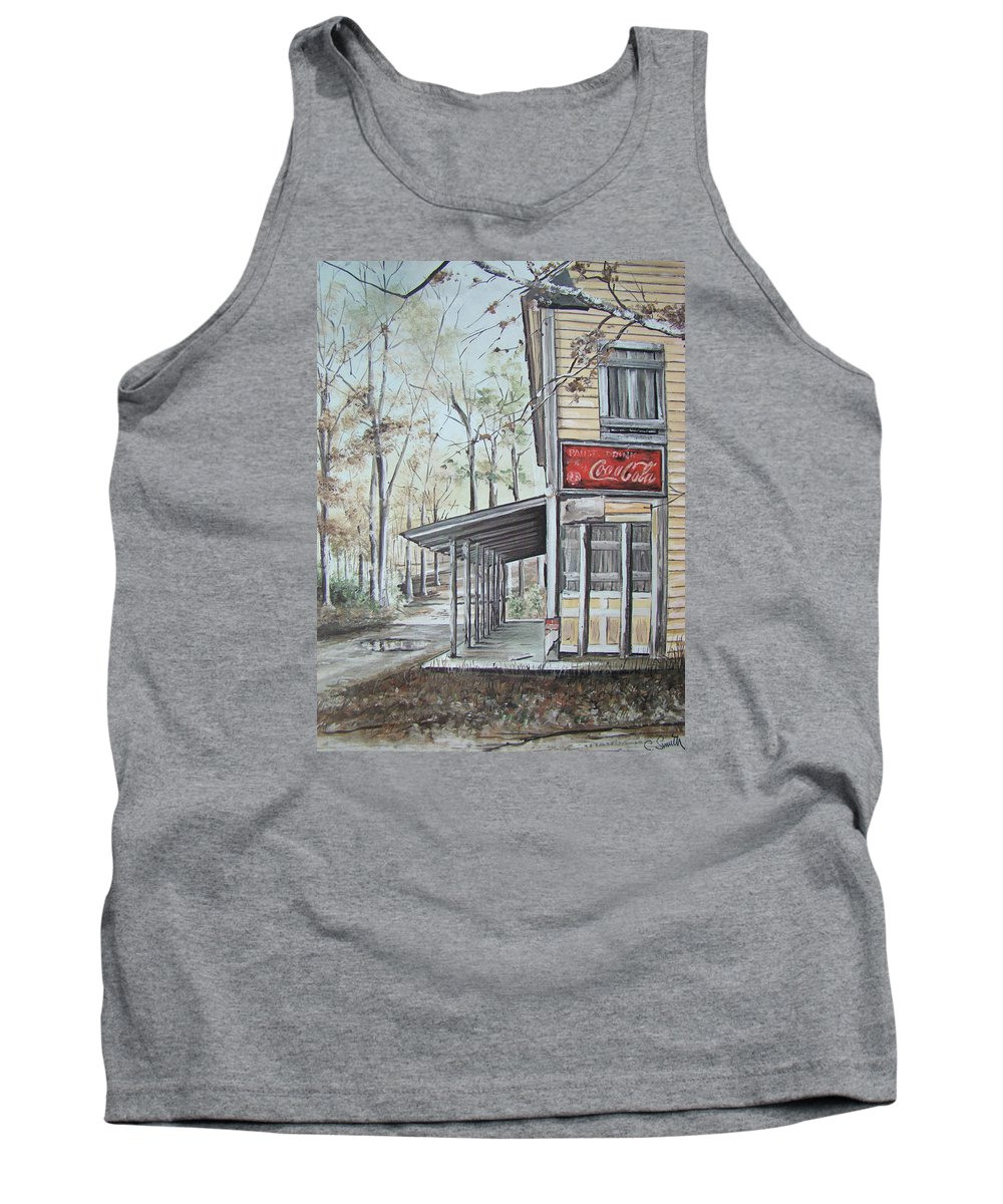 Charles Roy Smith Tank Top featuring the painting Jackson Springs by Charles Roy Smith
