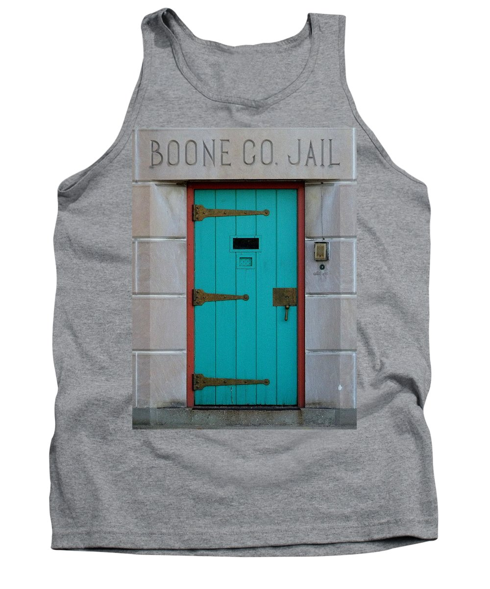 Still Life Tank Top featuring the photograph Jail For Sale by Ed Smith