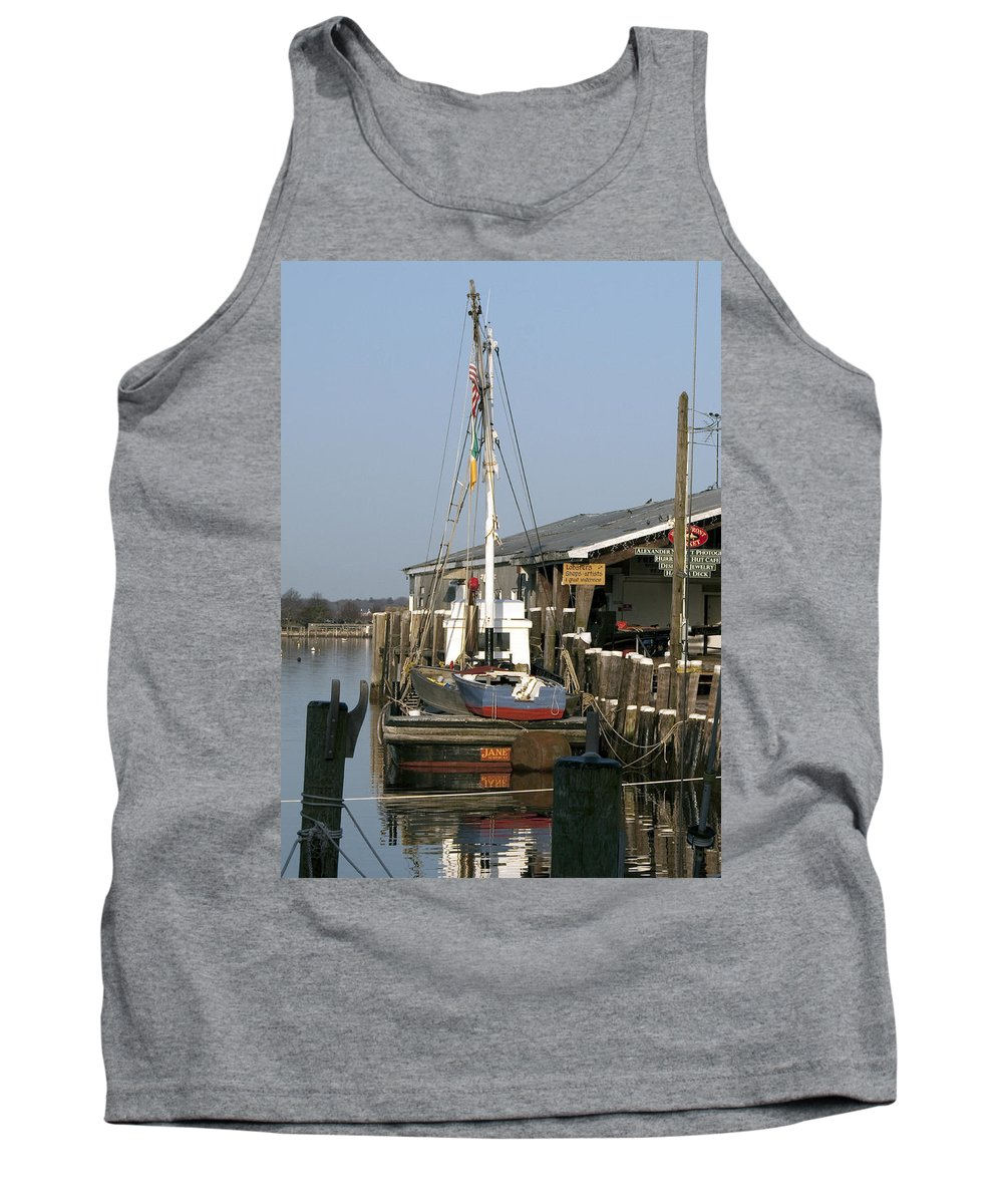 Boat Tank Top featuring the photograph Janet by Steven Natanson