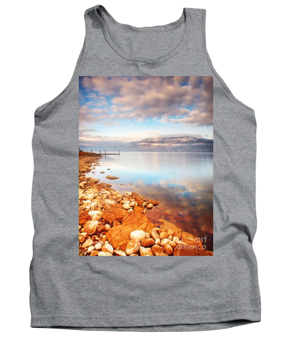 Lake Tank Top featuring the photograph January 19 2010 by Tara Turner
