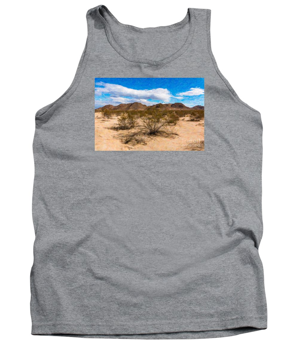 Desert Tank Top featuring the photograph Joshua Tree Ca 1 by Stefan H Unger
