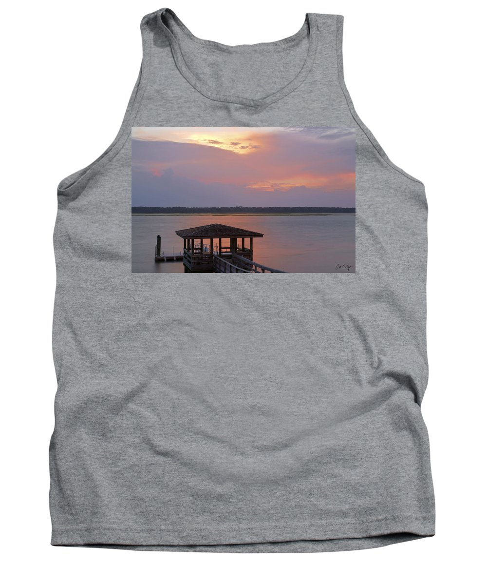 Sunset Tank Top featuring the photograph July Evening by Phill Doherty