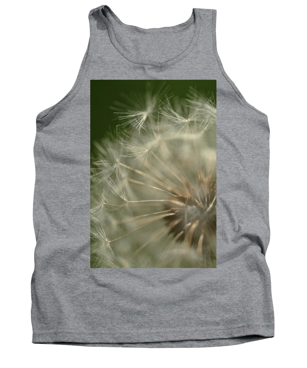 Dandelion Tank Top featuring the photograph Just A Weed by Michael McGowan