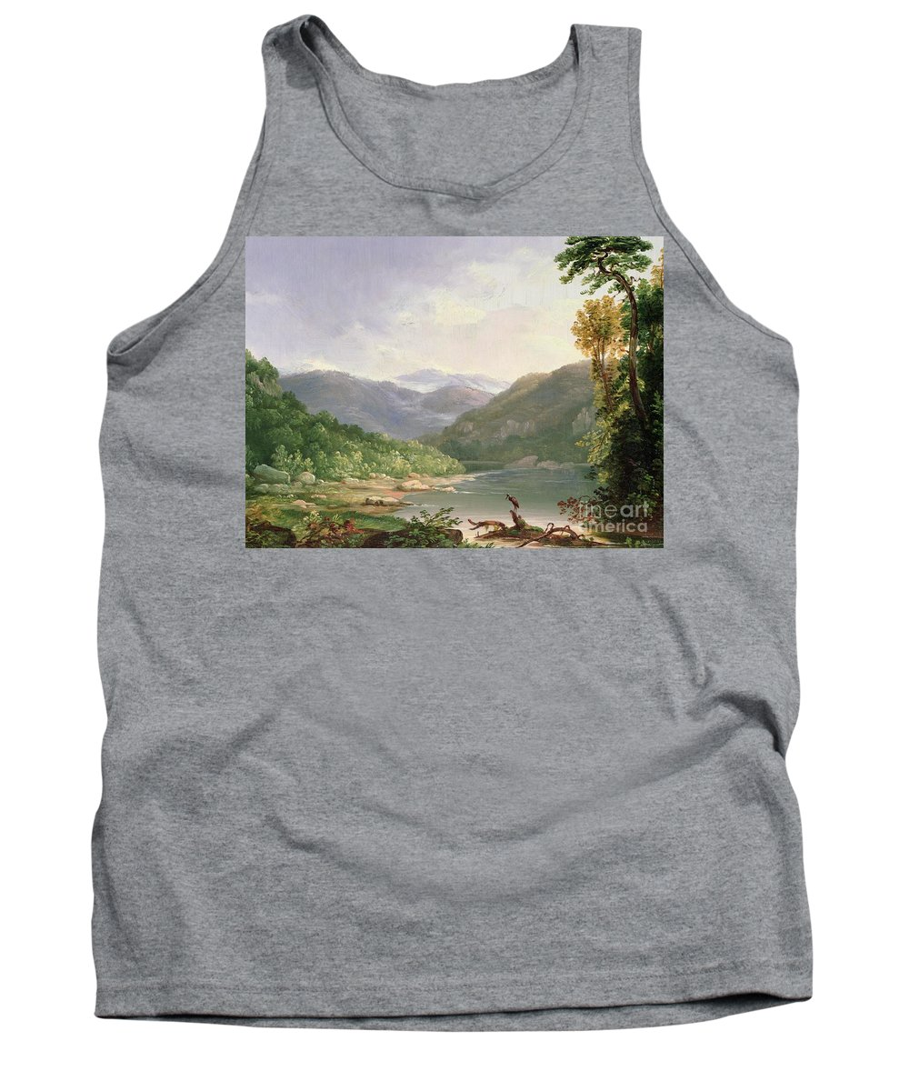 Kentucky River Tank Top featuring the painting Kentucky River by Thomas Worthington Whittredge