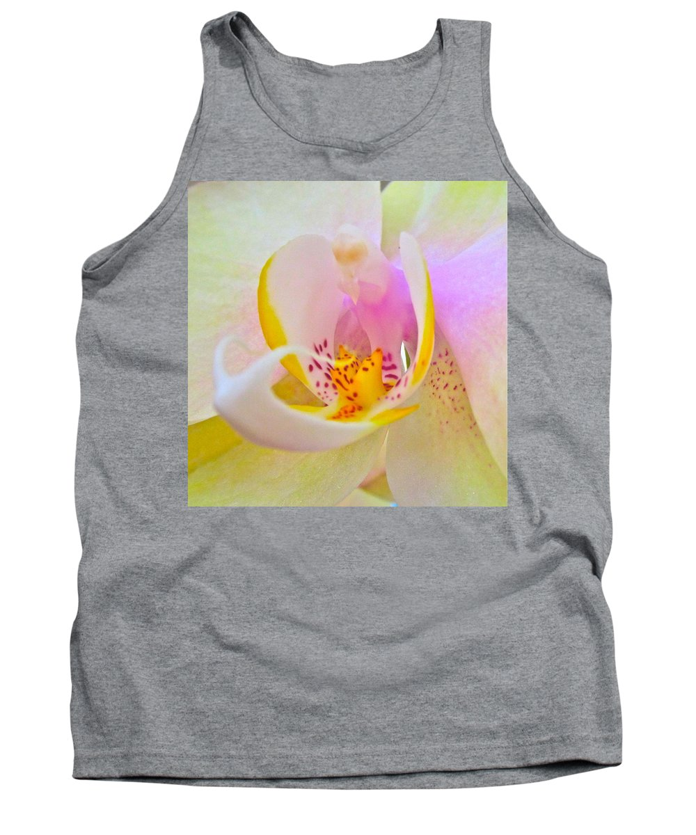 Photograph Of Orchid Tank Top featuring the photograph Killing Me Softly by Gwyn Newcombe