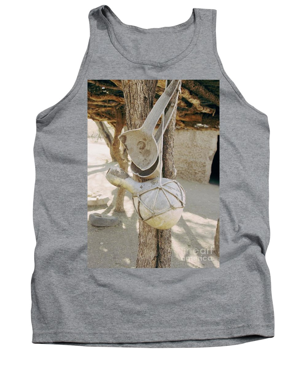 Tumacacori Tank Top featuring the photograph Kitchen Utensils by Kathy McClure