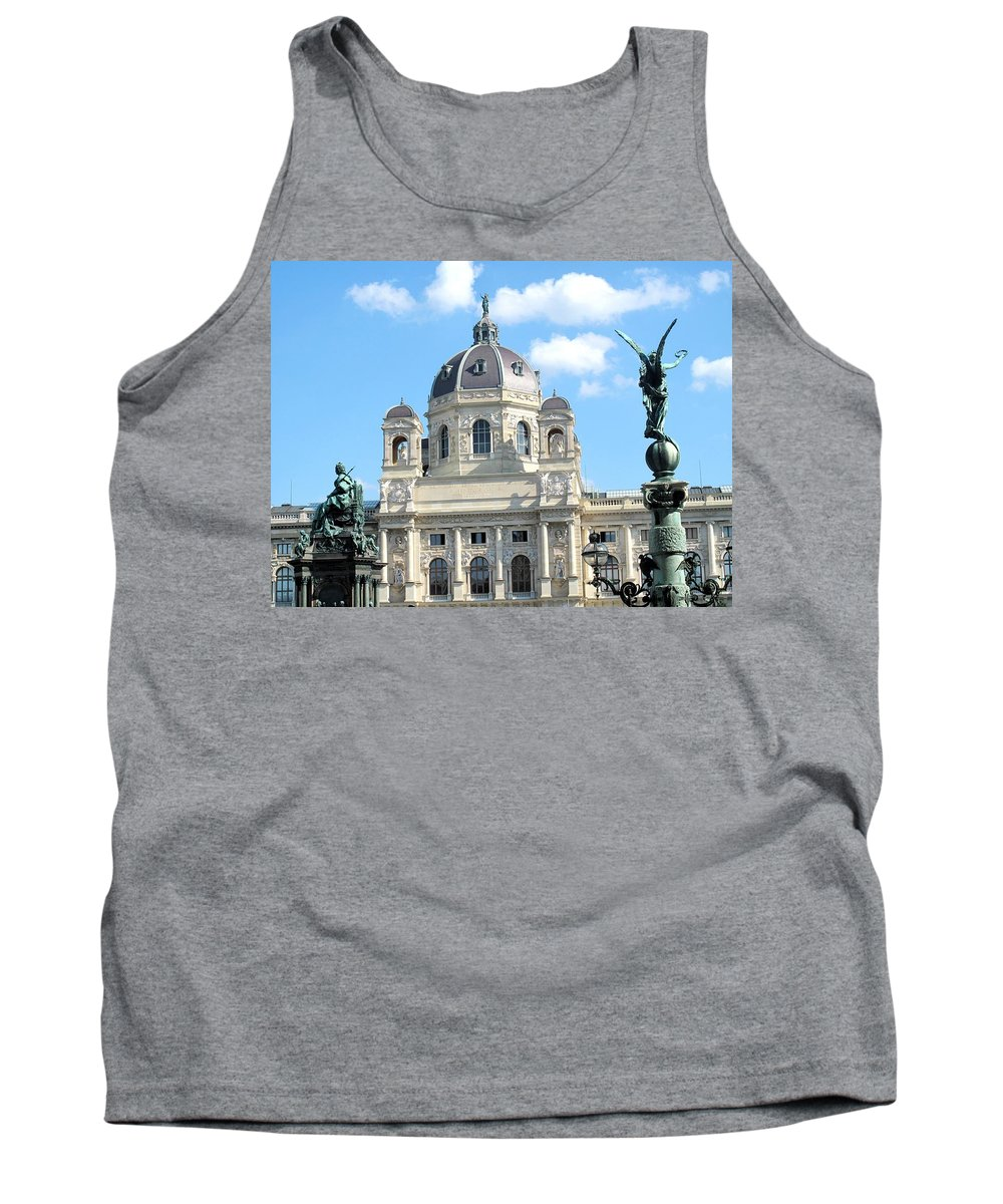 Vienna Tank Top featuring the photograph Kunsthistoriches Museum Vienna by Ian MacDonald