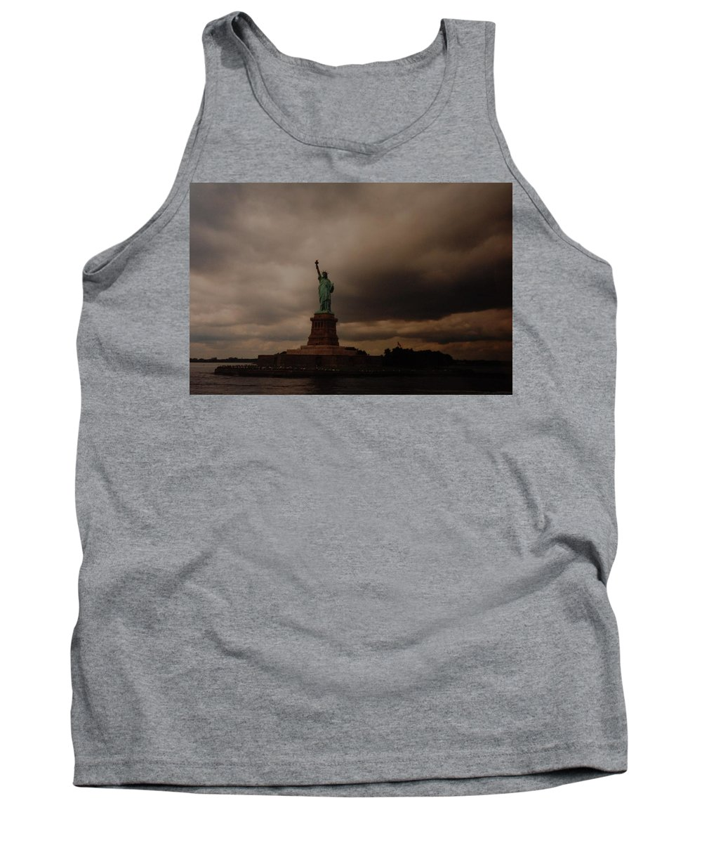 Statue Of Liberty Tank Top featuring the photograph Lady Liberty by Rob Hans