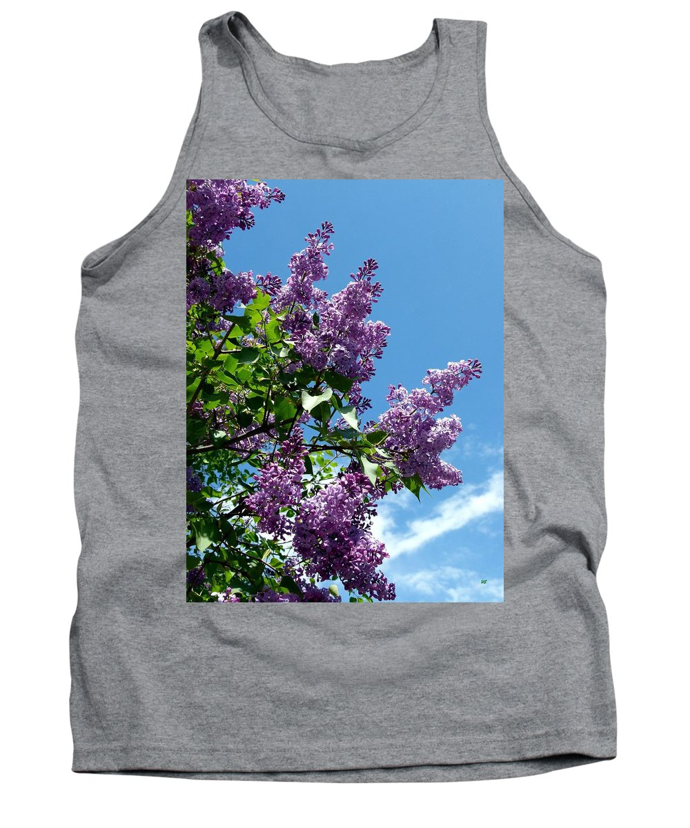 Lilacs Tank Top featuring the photograph Lake Country Lilacs by Will Borden