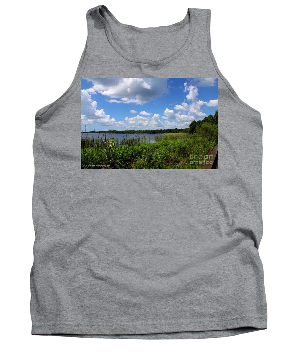 Lake Tarpon Tank Top featuring the photograph Lake Tarpon by Barbara Bowen
