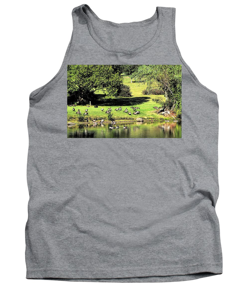 Bird Tank Top featuring the photograph Last Days Of Summer by Gaby Swanson