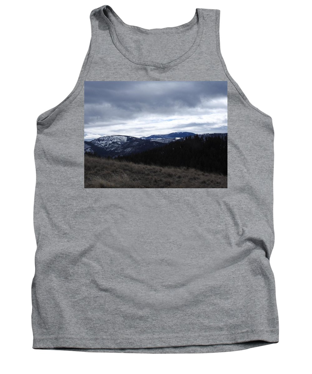 Tank Top featuring the photograph Layered Serenity by Dan Hassett