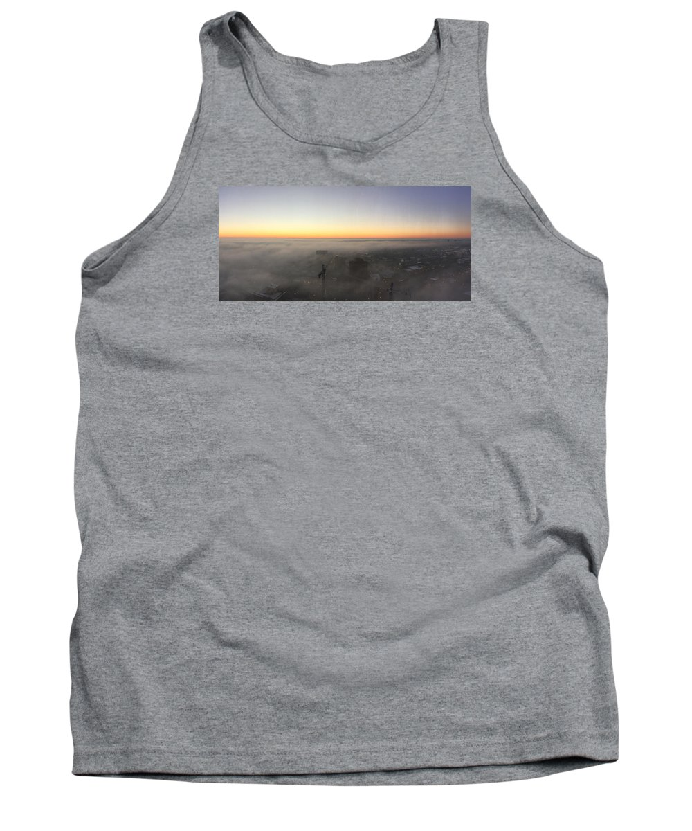 Lex Tank Top featuring the photograph Lex Skyline by Michael Sweeney