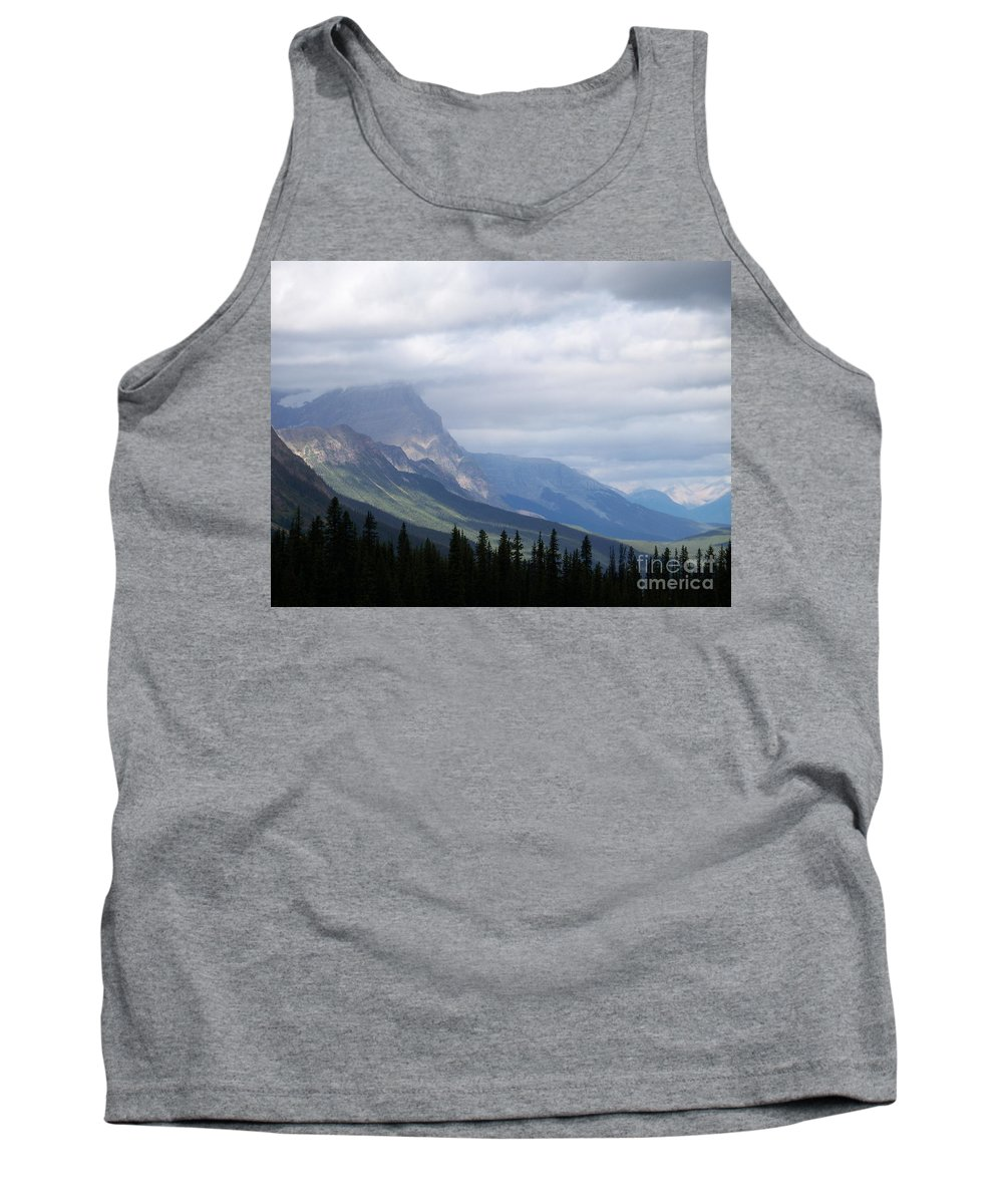 Scenic Tank Top featuring the photograph Light In The Valley by Greg Hammond