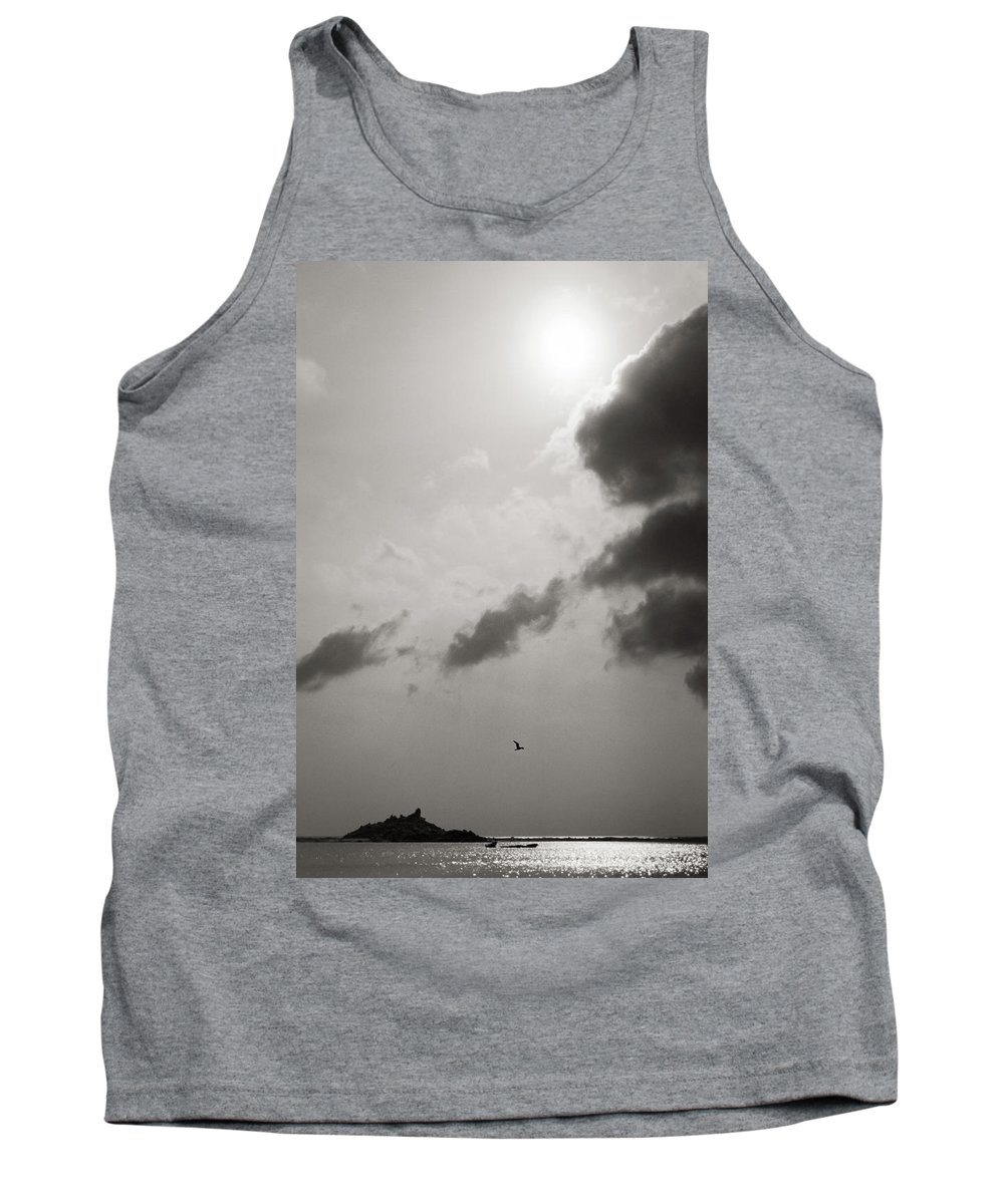 Abstract Tank Top featuring the photograph Light Of The Sky by Konstantin Dikovsky