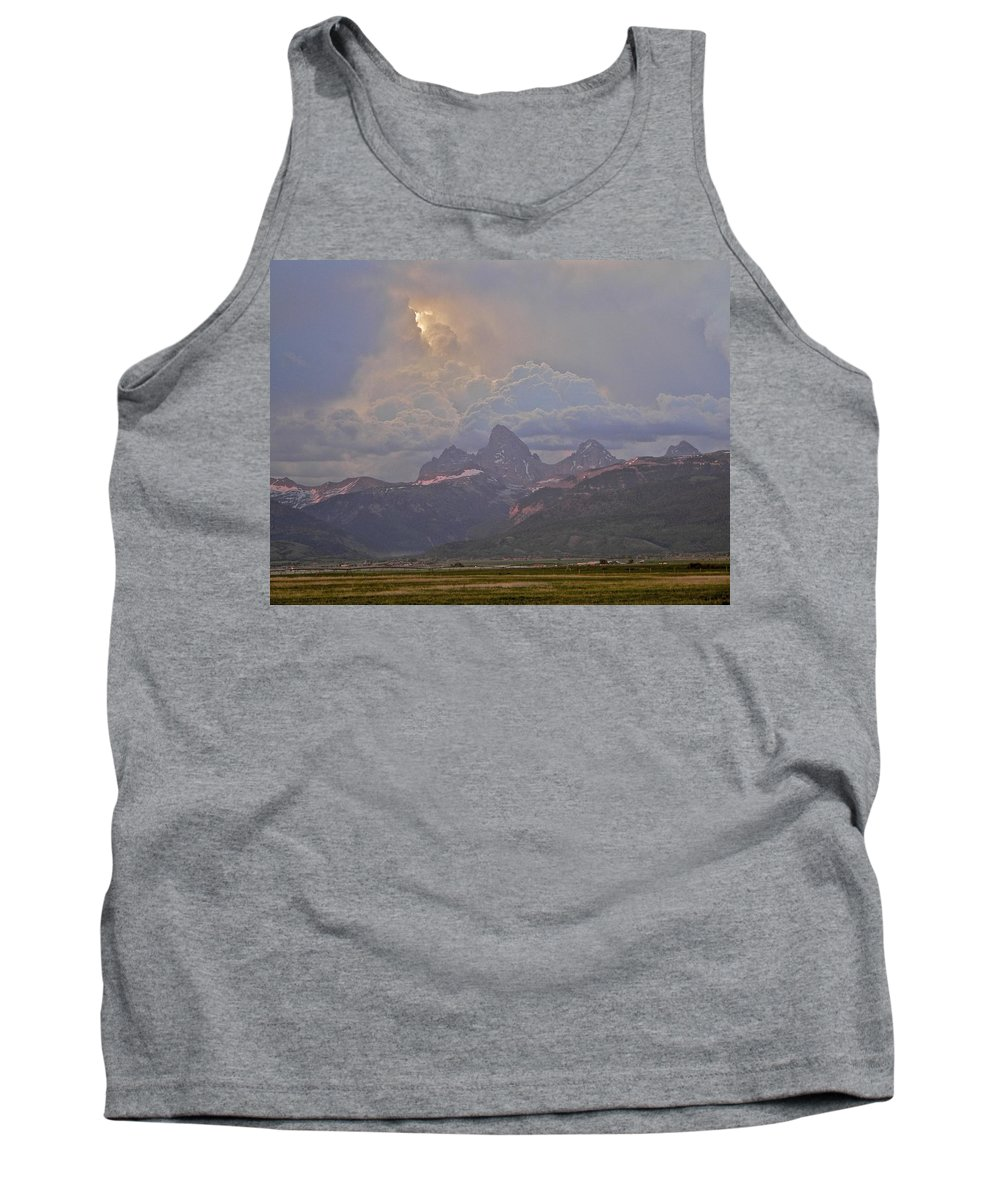 Sunlight Tank Top featuring the photograph Light Storm by Eric Tressler