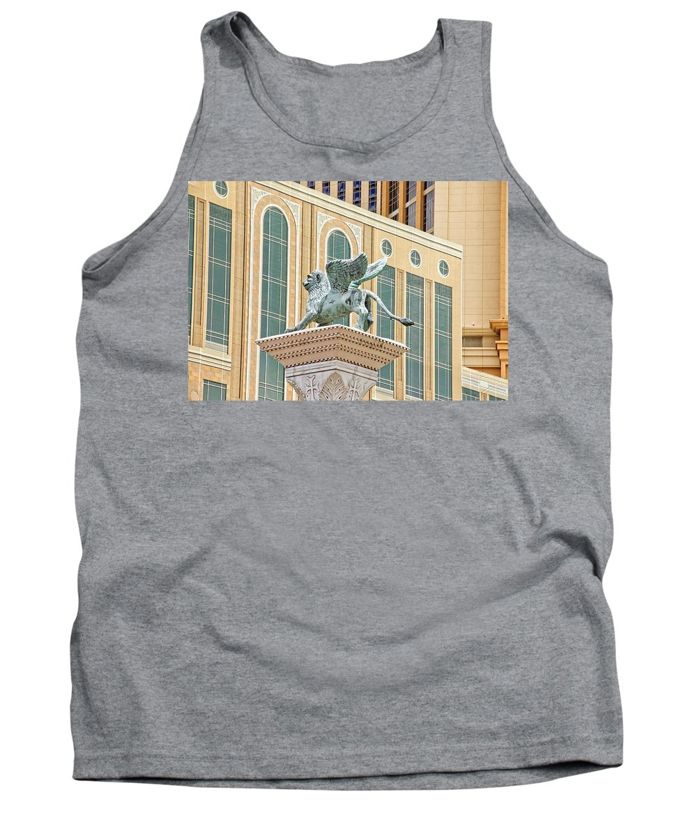 Alicegipsonphotographs Tank Top featuring the photograph Lion Angel by Alice Gipson