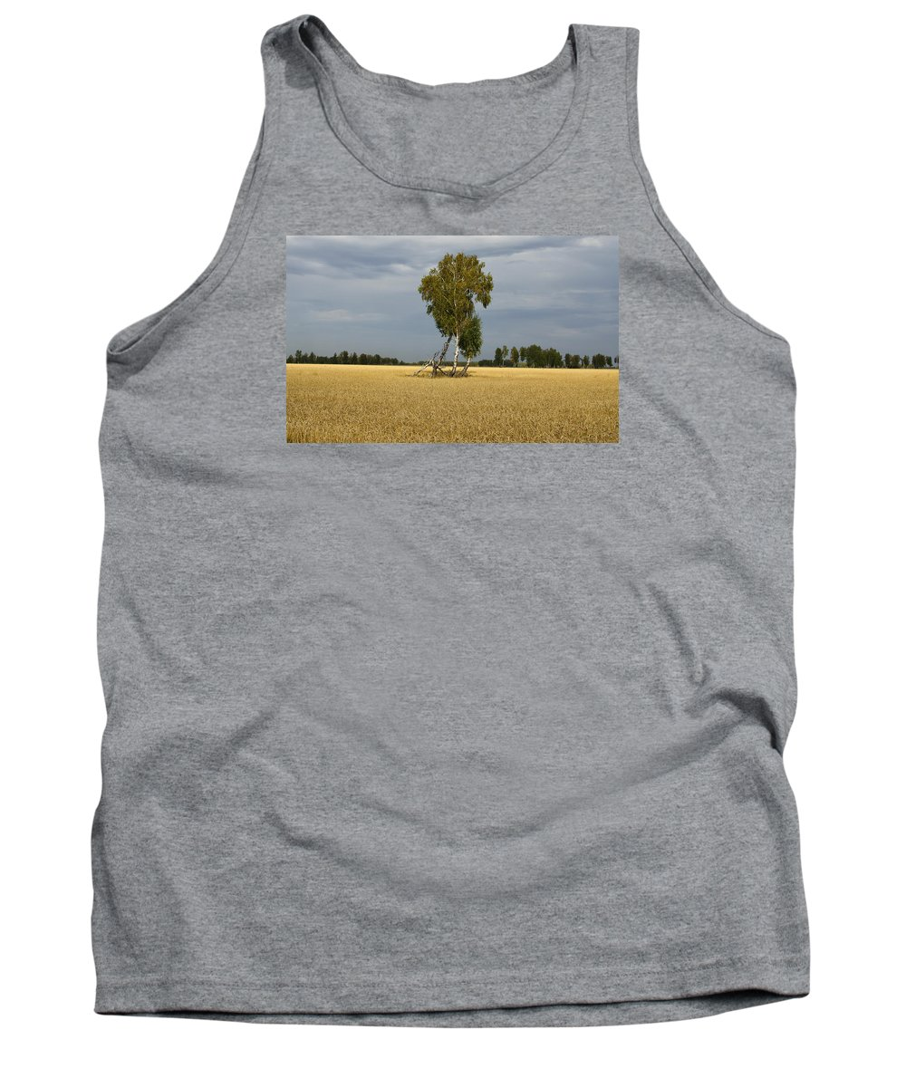 Little Tank Top featuring the photograph Little Family by Alexey Kezin