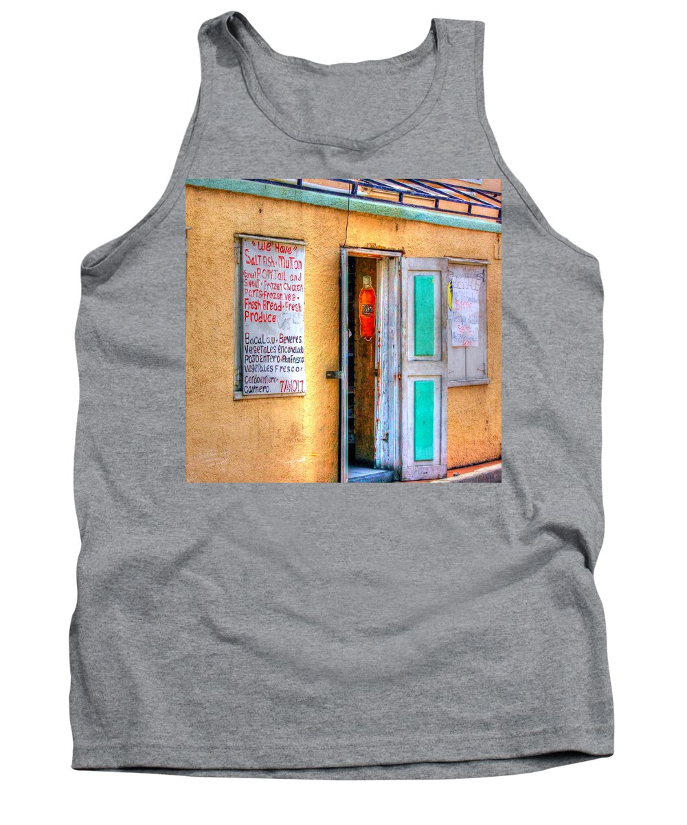 Store Tank Top featuring the photograph Local Store by Debbi Granruth