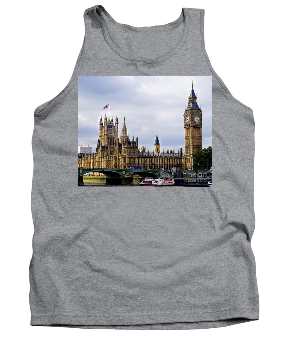 London Tank Top featuring the photograph London 4 by Ben Yassa