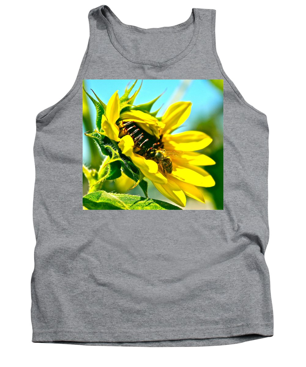 Photograph Tank Top featuring the photograph Lookalikes by Gwyn Newcombe