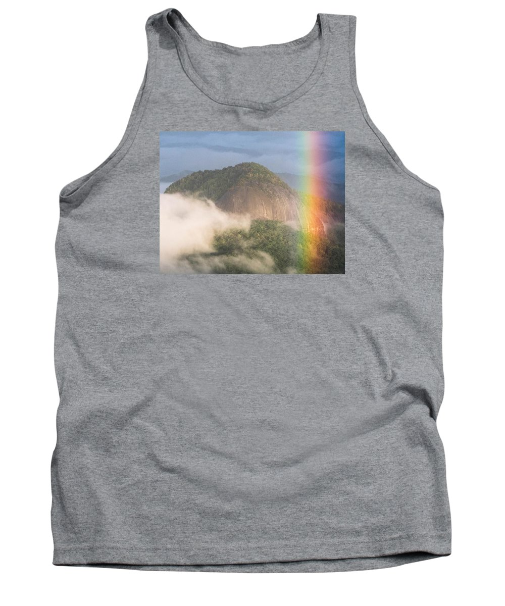 Looking Glass Rock Tank Top featuring the photograph Looking Glass Rock by Brittany Jordan