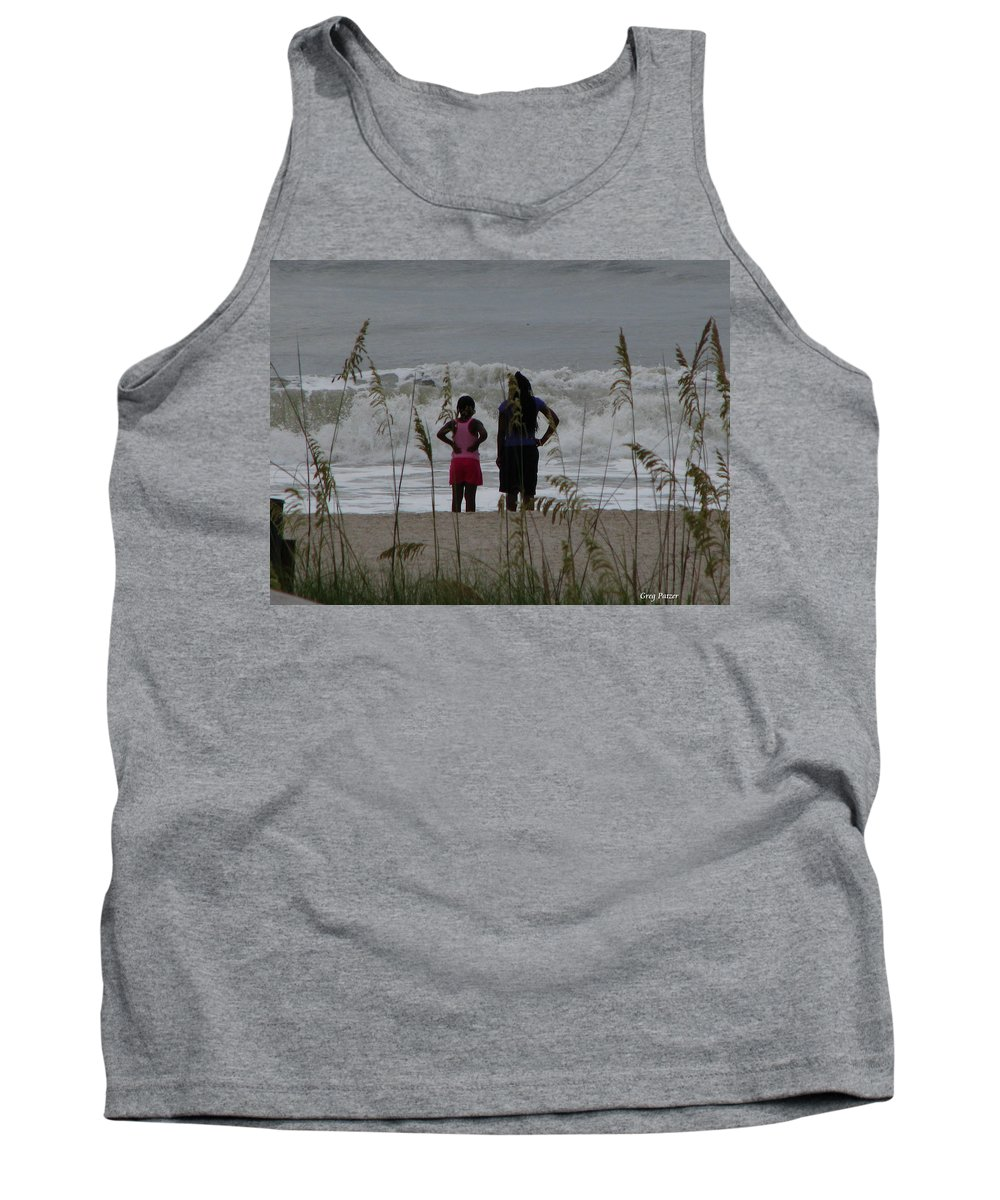 Patzer Tank Top featuring the photograph Looking by Greg Patzer