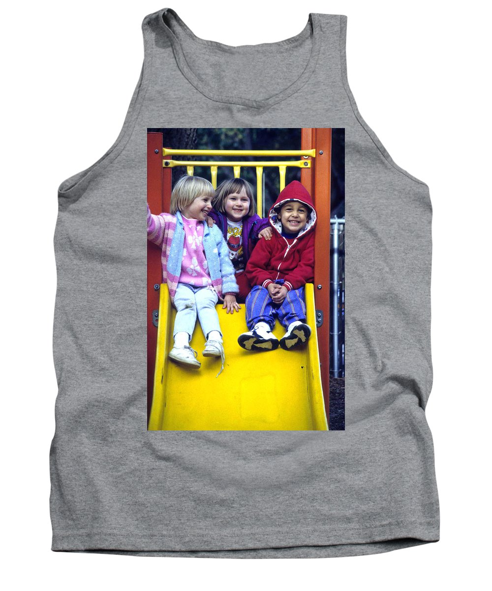Girl Tank Top featuring the photograph Love Thy Neighbor by Laurie Paci
