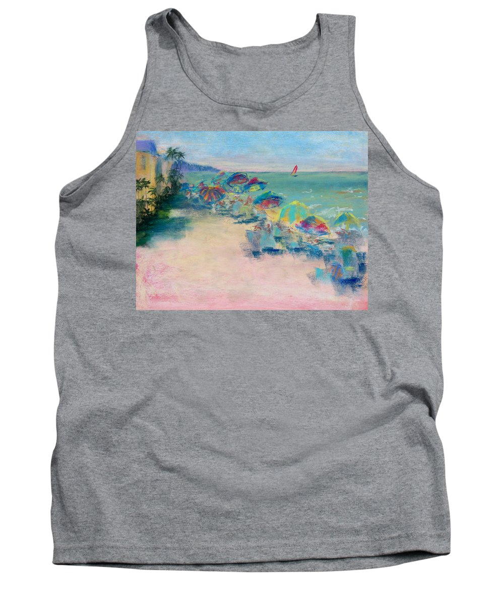 Lowdermilk Park Tank Top featuring the painting Lowdermilk Park by Laurie Paci