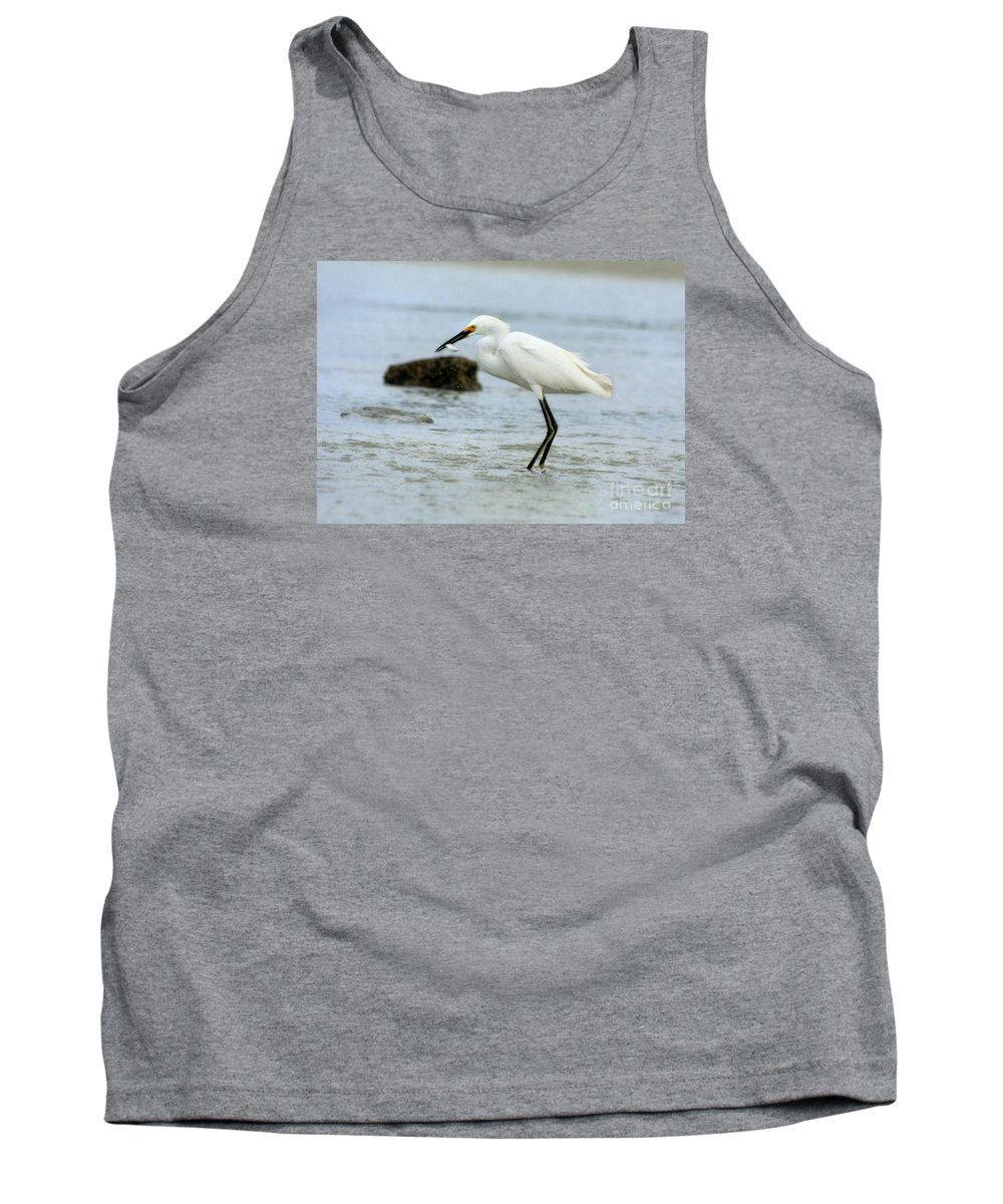 Tank Top featuring the photograph Made A Catch 2 by Angela Rath