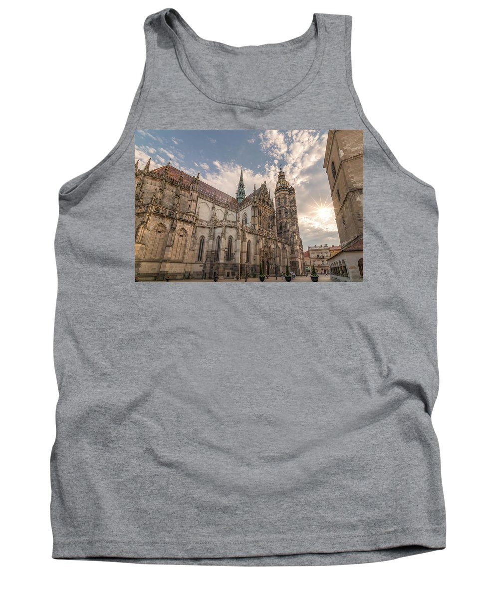 Kosice Tank Top featuring the photograph Magical Moment by Lubomir Mihalik
