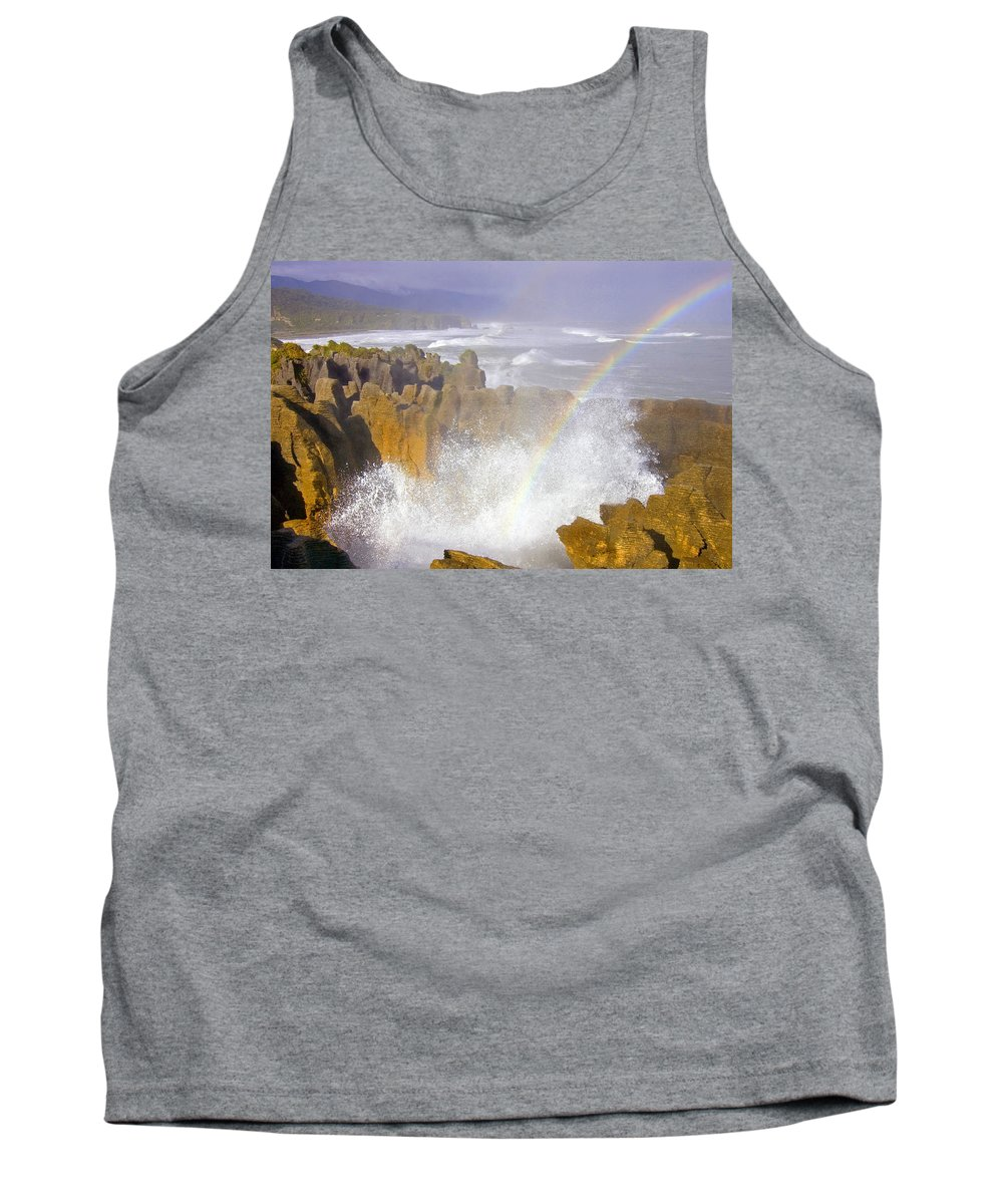 Paparoa Tank Top featuring the photograph Making Miracles by Mike Dawson