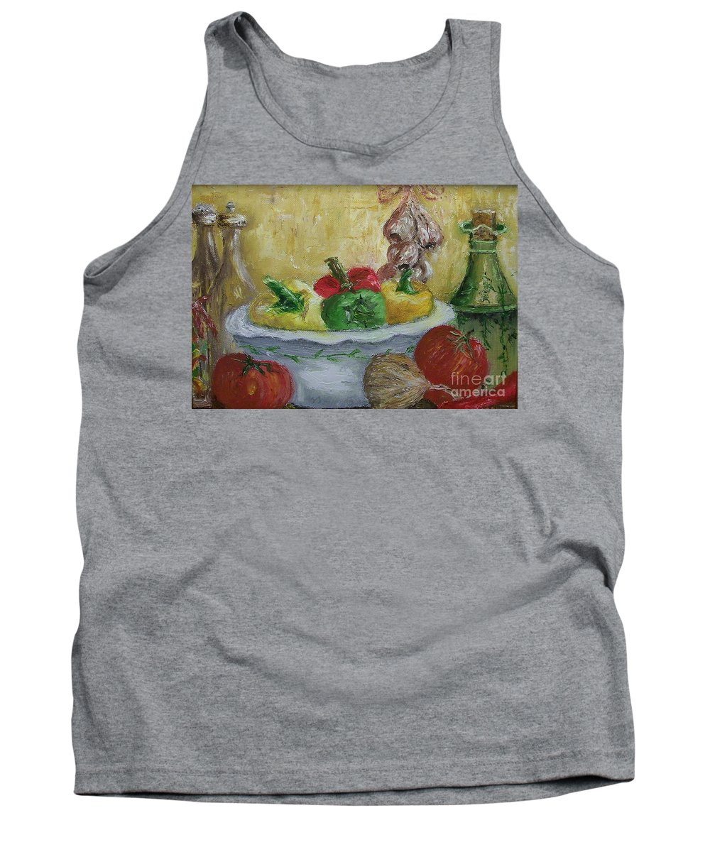 Still Life Tank Top featuring the painting Mama by Stephen King