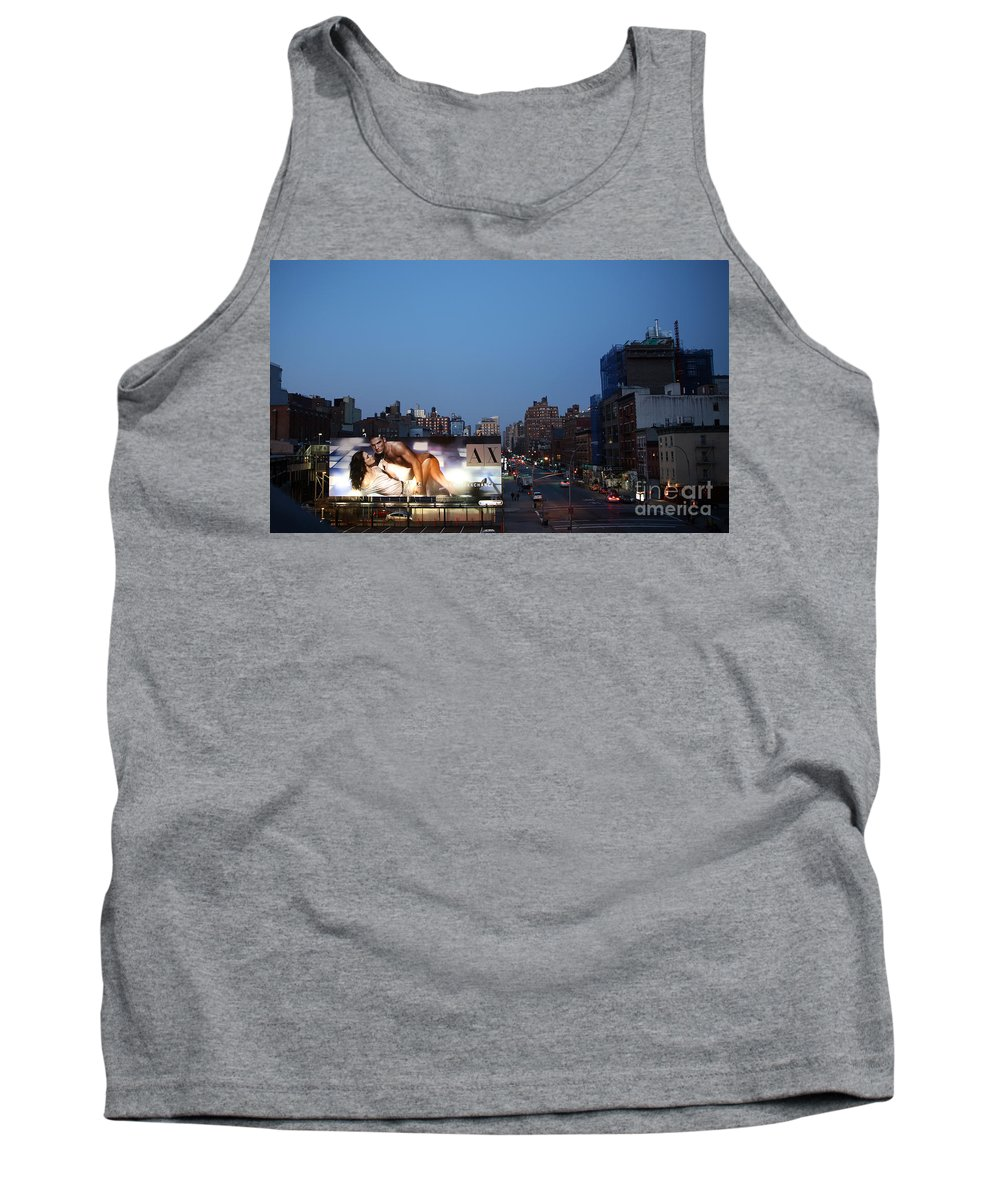 Manhattan Tank Top featuring the photograph Manhattan View From The High Line by Madeline Ellis