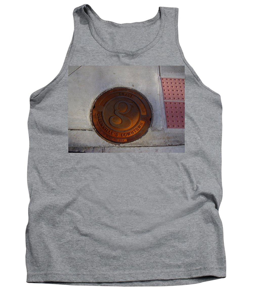Manhole Tank Top featuring the photograph Manhole I by Flavia Westerwelle