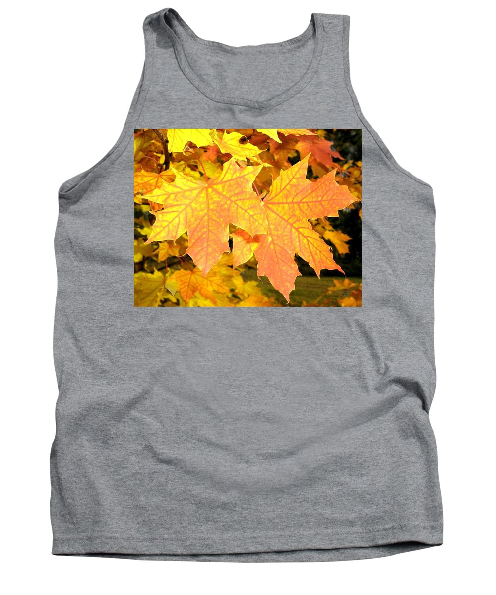 Autumn Tank Top featuring the photograph Maple Mania 2 by Will Borden