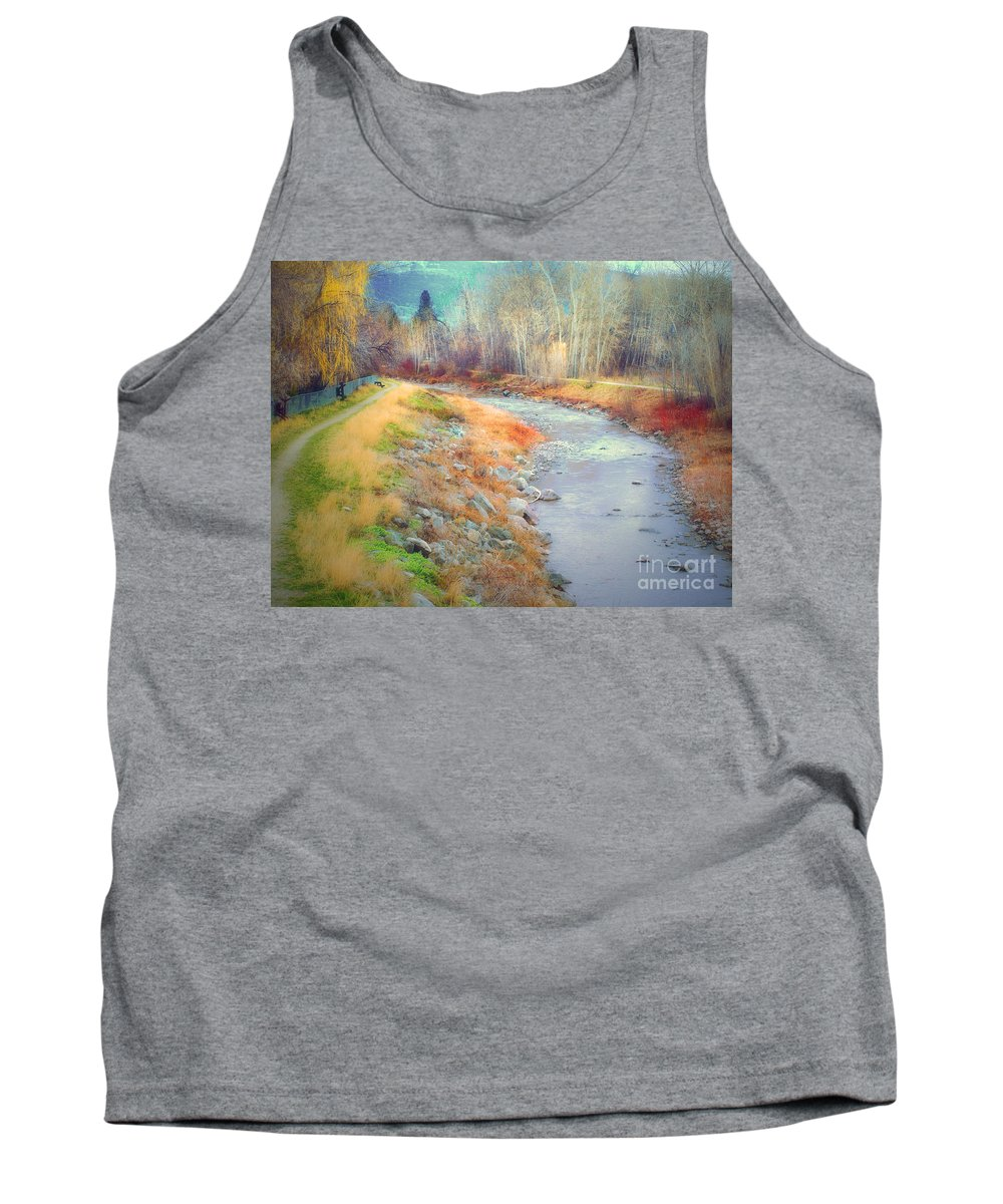 Creek Tank Top featuring the photograph March 21 2010 by Tara Turner