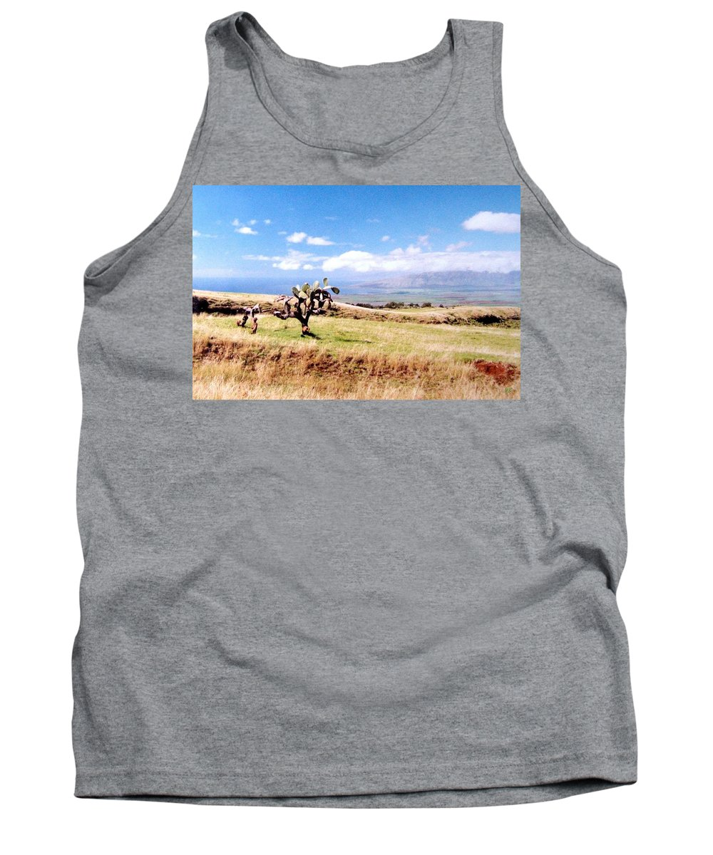 1986 Tank Top featuring the photograph Maui Upcountry by Will Borden