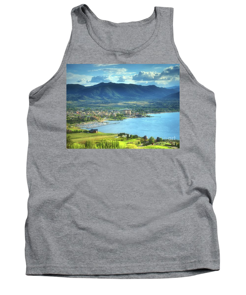 Penticton Tank Top featuring the photograph May 20 2011 by Tara Turner