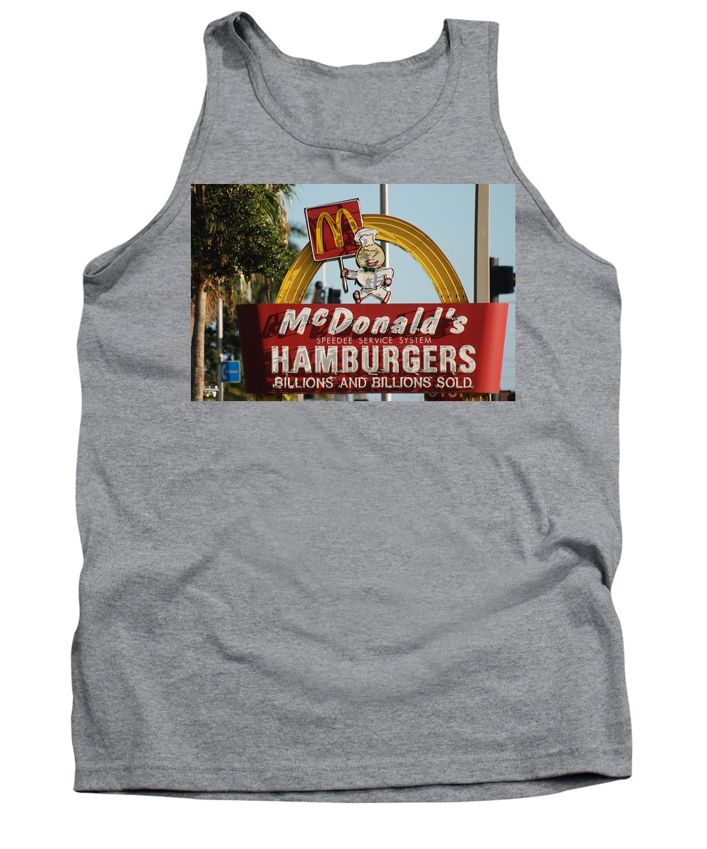 Mcdonalds Tank Top featuring the photograph Mc Donalds by Rob Hans