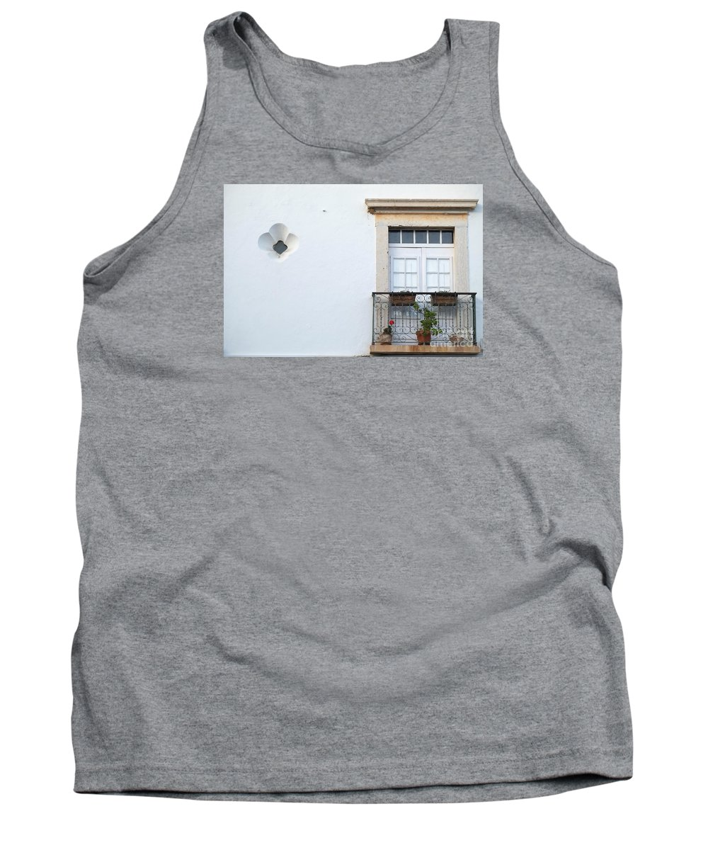 Balcony Tank Top featuring the photograph Mediterranean Balcony by Angelo DeVal