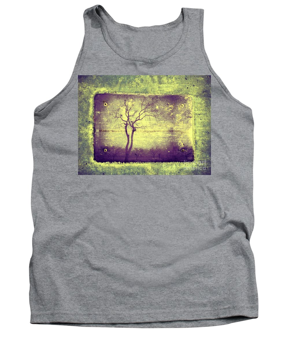 Horizon Tank Top featuring the photograph Memories Like Trees by Tara Turner