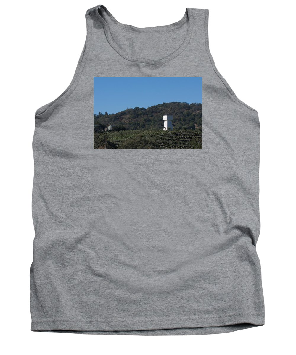 Tankhouse Tank Top featuring the photograph Mendocino Tankhouse by Grant Groberg