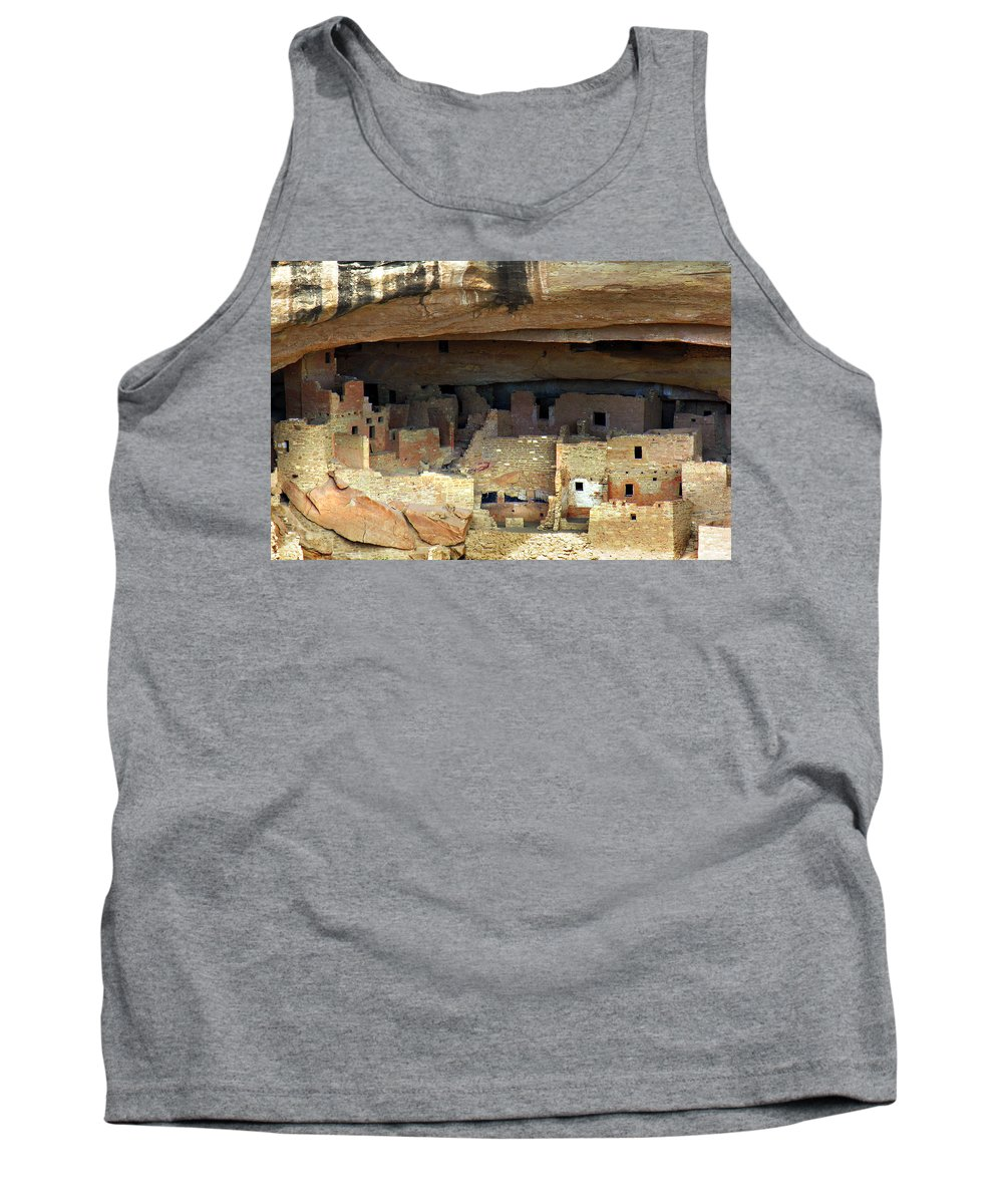 Americana Tank Top featuring the photograph Mesa Verde by Marilyn Hunt