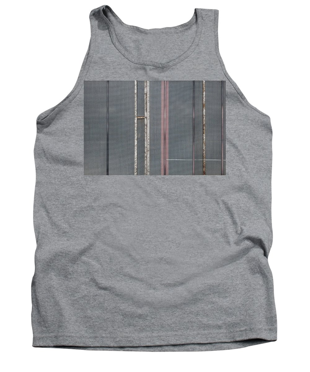 Abstract Tank Top featuring the photograph Mesh 02 by Richard Nixon