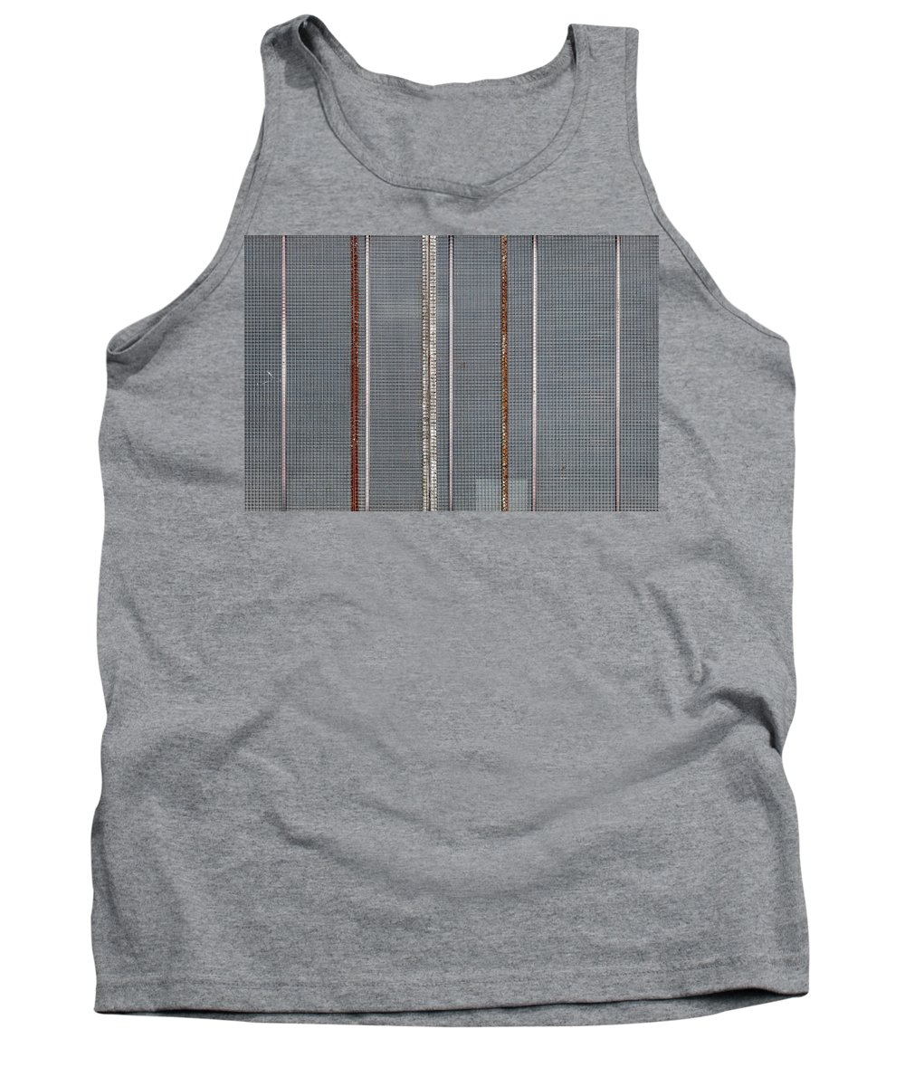 Abstract Tank Top featuring the photograph Mesh 03 by Richard Nixon