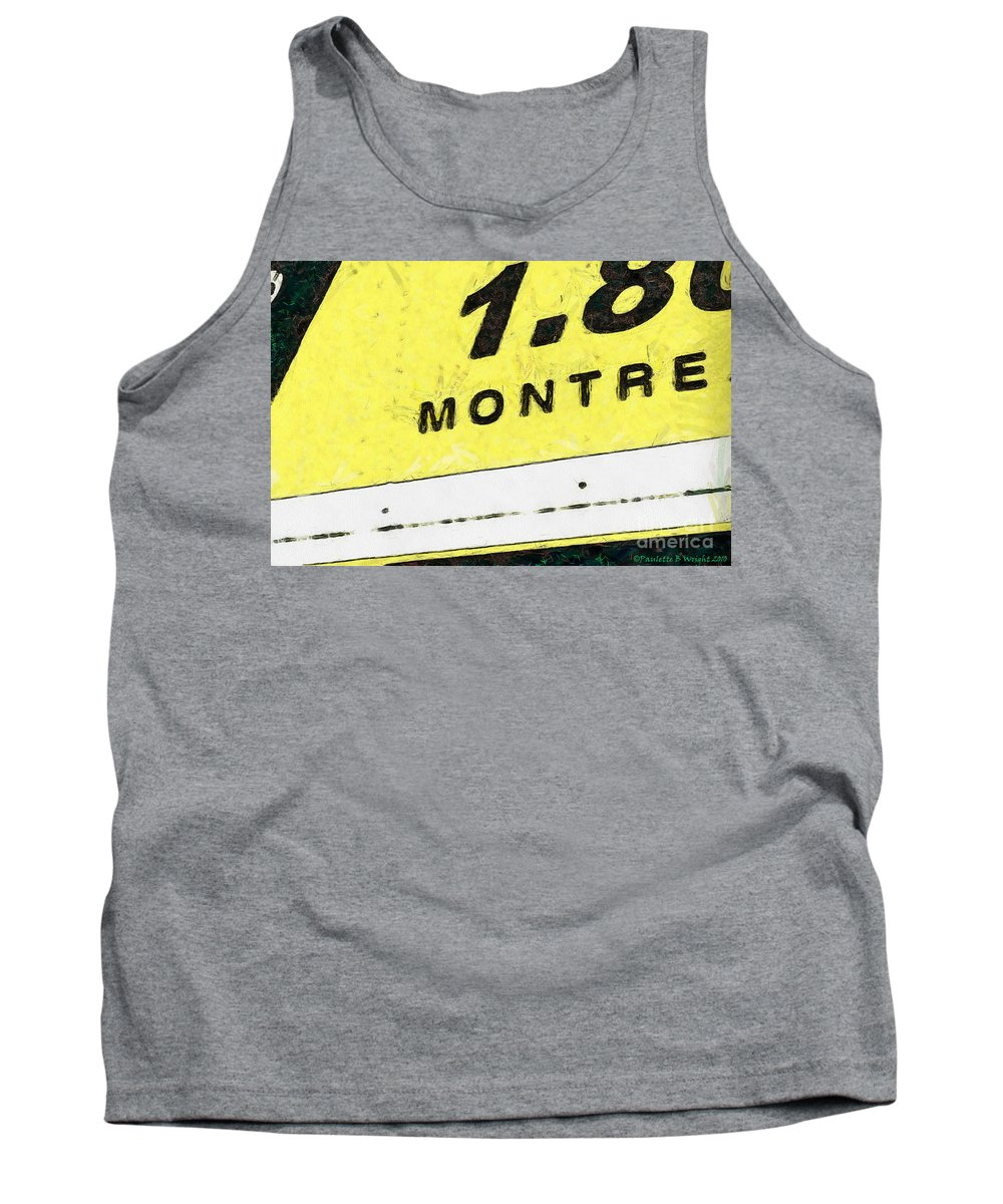 Truck Tank Top featuring the photograph Miles To Go II by Paulette B Wright
