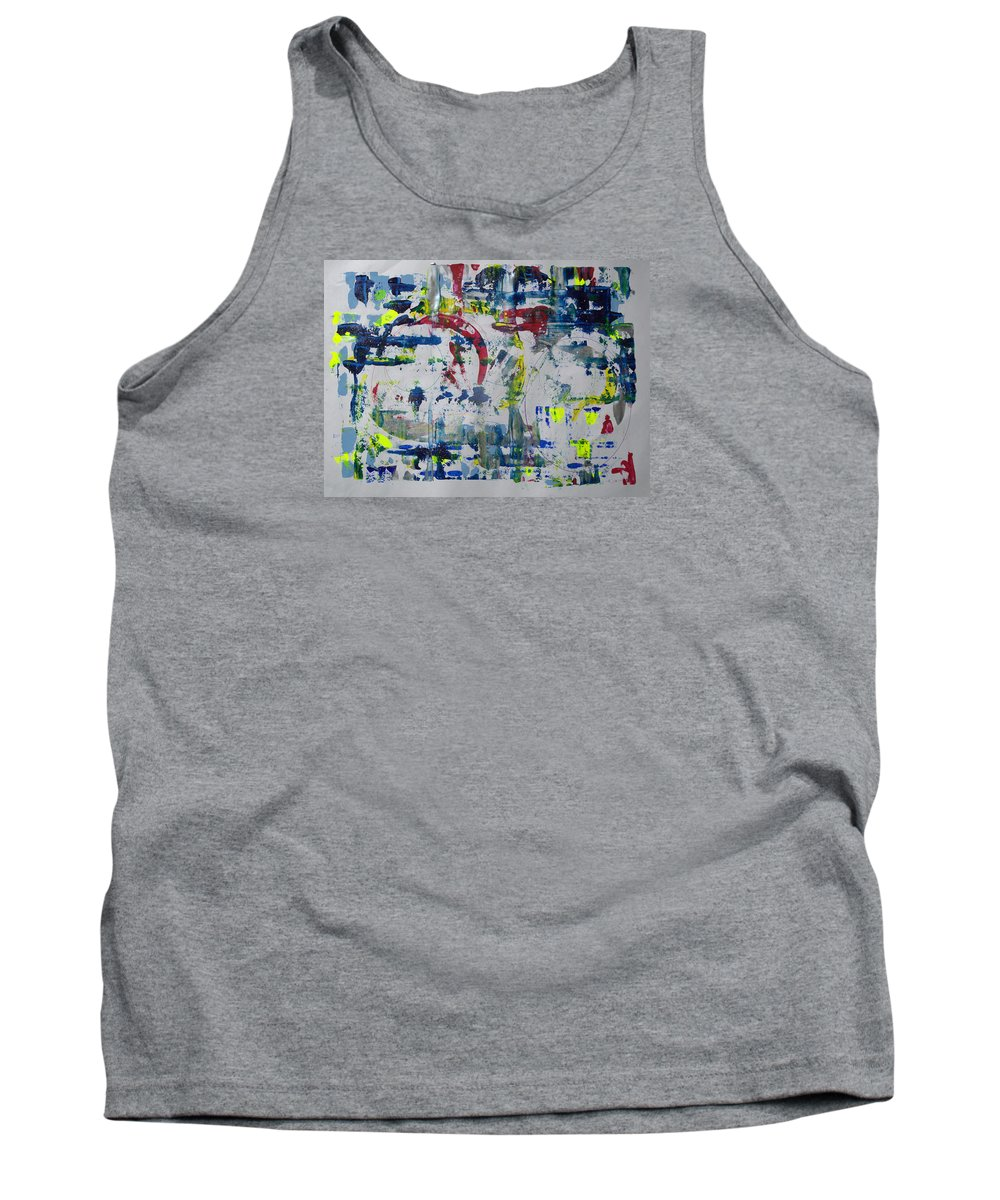 Painting Tank Top featuring the painting Mine Eyes Have Seen by J R Seymour