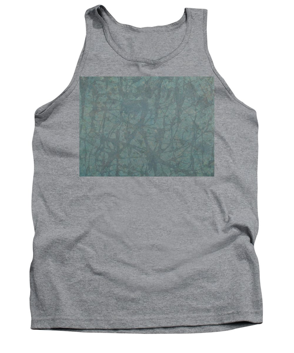 Minimal Tank Top featuring the painting Minimal Number 3 by James W Johnson