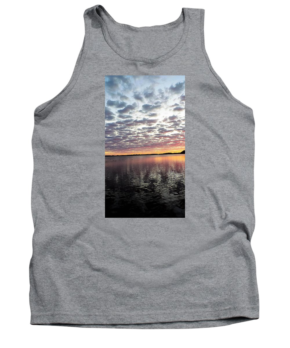 Lake Tank Top featuring the photograph Minnesota Sunrise by Tracy Welter